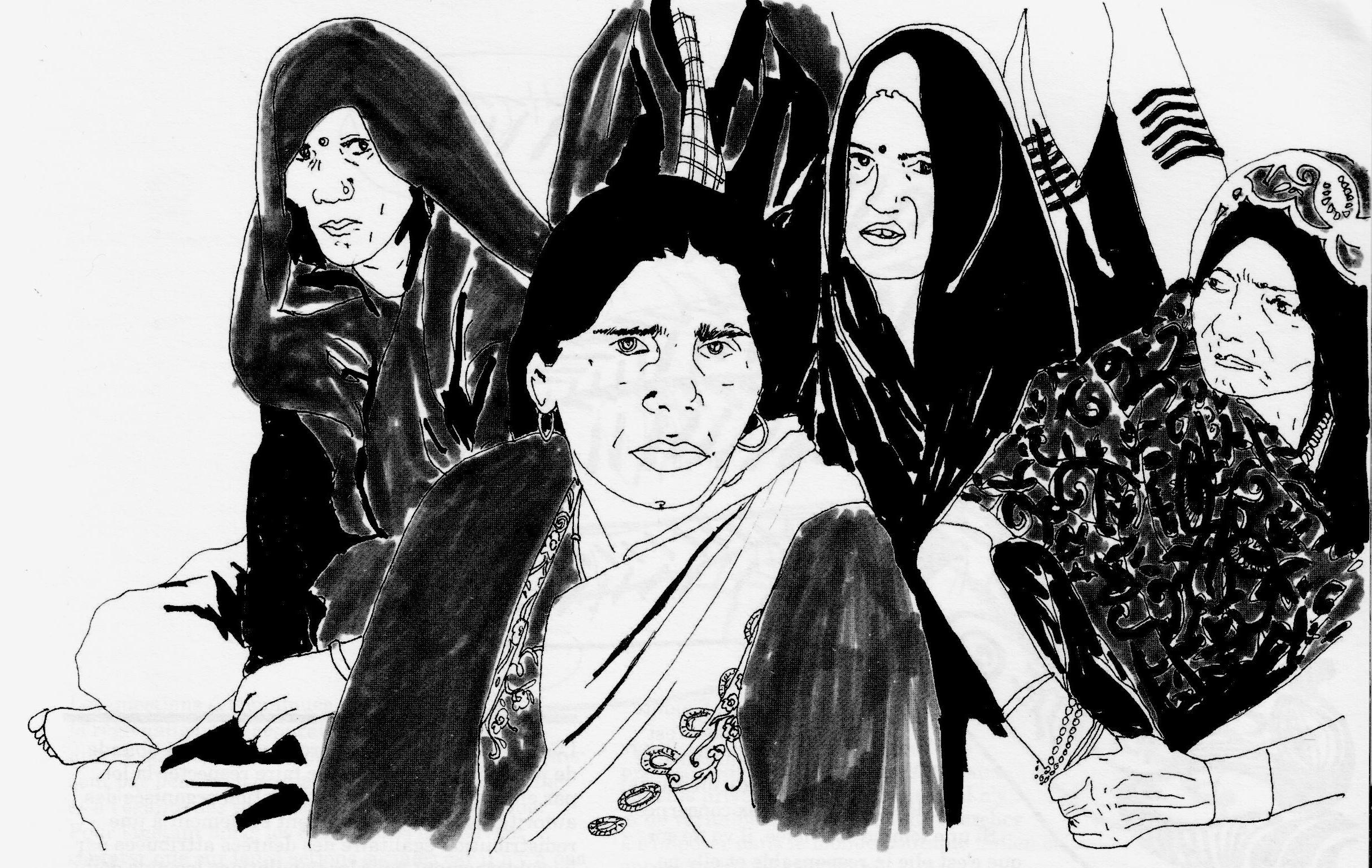 Croquis Gulabi Gang